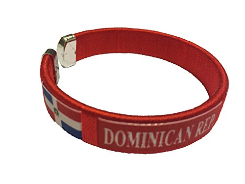Flag C Bracelets Wristbands - Americas (Country: Dominican Republic)