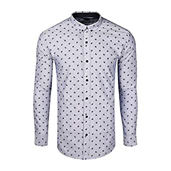 92ad0672d9 Zara Man Printed Shirt: Amazon.in: Clothing & Accessories