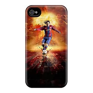 5c Scratch-proof Protection Case Cover For Iphone/ Hot Messi Phone Case