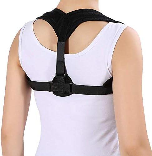 猫背矯正ベルト 脱着簡単 調節可能 首補正姿勢補正脊椎矯正サポーターの健康を与える姿勢矯正バックのサポート 日常 便利 防具 肩こり解消 巻き肩 美姿勢 補正サポーター 子供 大人 男女兼用