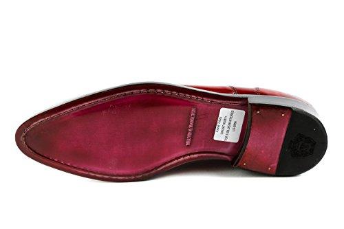 1259 MH15 de Hamilton à amp; pour Rouge Melvin Rouge Homme Lacets Chaussures Ville qEwtXcOn
