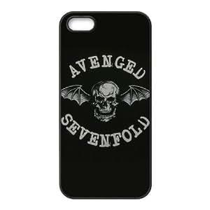 iPhone 5,5S Phone Case Black Avenged Sevenfold ZCC585426