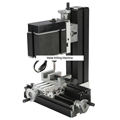 TZ20005M 60W Metal Milling Machine/60W,12000rpm Big power vertical mill machine by MUCHENTEC