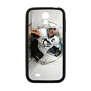 Happy Hockey NHL Sidney Crosby Pittsburgh Penguins Phone Case for Samsung Galaxy s4