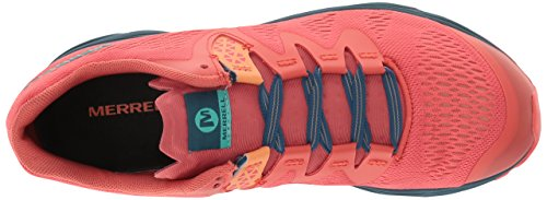 Merrell Womens Riveter E-mesh Sneaker Hot Coral