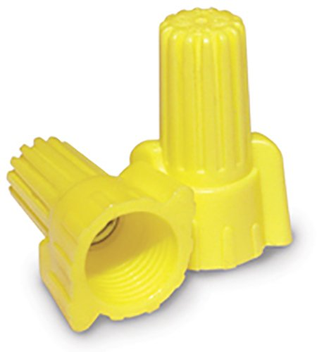 King Innovation 67071 Contactors' Choice Yellow Wing Wire Connector, Pack of 500
