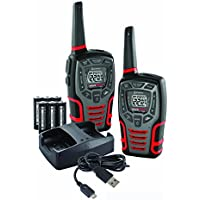 Cobra ACXT545 28-Mile Range Rugged Two-Way Radios (Pair) with Dock