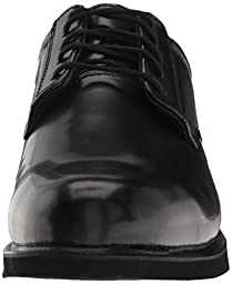 Thorogood Men\'s Academy Oxford,Black,13 W US