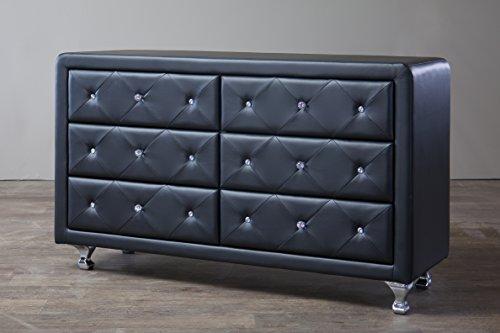 Baxton Studio Luminescence Contemporary Upholstered