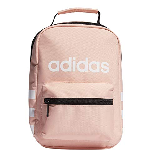 adidas Unisex Santiago Insulated Lunch Bag, Glow Pink/White, ONE SIZE (Bags Box Lunch)