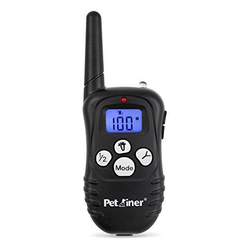 Petrainer Replacement Remote Transmitter for Dog Shock Collar PET998DRU/PET998DBU