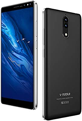 Unlocked Cell Phones, Vmobile N8 4G, 16GB ROM Smartphone 5 5 inch 18:9  Widescreen, Dual 8 0MP Camera Android 7 0, Dual SIM & 2800mAh Battery Quad  Core