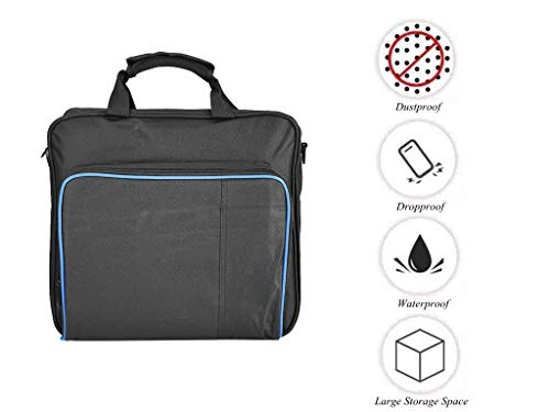 fosa PS4 Pro Carrying Case Bag, Waterproof Shockproof Game System Protective Travel Case for PlayStation 4 Pro System and Accessories [video game]