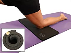 Yogi Approved, 15mm Thick!  Adds comfort to your existing yoga mat for a pain-free yoga or exercise experience.  The SukhaMat is the ORIGINAL MAT-WIDTH YOGA KNEE PAD, designed to cushion your knees, elbows, ankles, sit-bone or any other sensi...