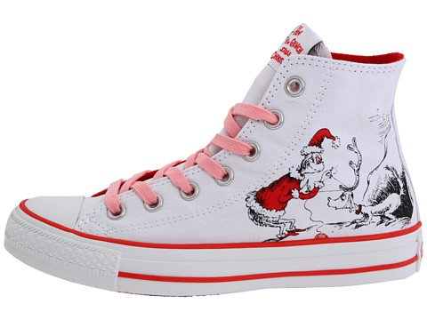 088ab3e270c7 Converse Dr Seuss How the Grinch Stole Christmas Sneakers Cindy Lou (7)