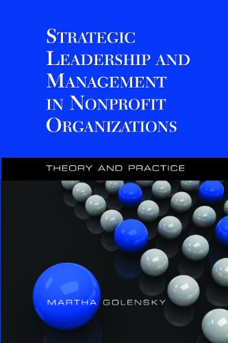 Strategic Leadership and Management in Nonprofit Organizations