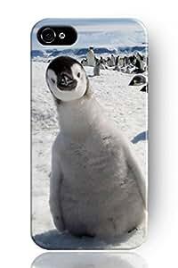 SPRAWL@ DESIGN Beauty Design Apple iphone case Hard Back Shell Cover for IPHONE 5 5G 5S--Penguins gathering