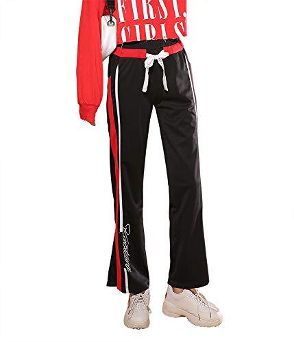 みなす混乱中絶(ラックスジョイ) LAX JOY ジョガーパンツ レディース パンツ スウェットパンツ ズボン スポーツ ルームウェア ダンス ウェア レディース 九分丈 おしゃれ