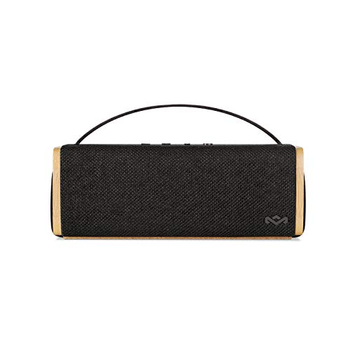 House of Marley Riddim Wireless Portable Bluetooth Speaker with a Microphone (House Of Marley Get Together Portable Bluetooth Speaker)