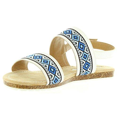 Sandales Pour Les Femmes Maria Mare 66357 C30258 Vacch Blanco