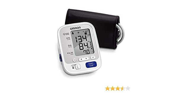 Amazon.com : Omron BP742 5 Series Upper Arm Blood Pressure Monitor with Thermometer : Automatic Arm Cuff Blood Pressure Monitors : Beauty