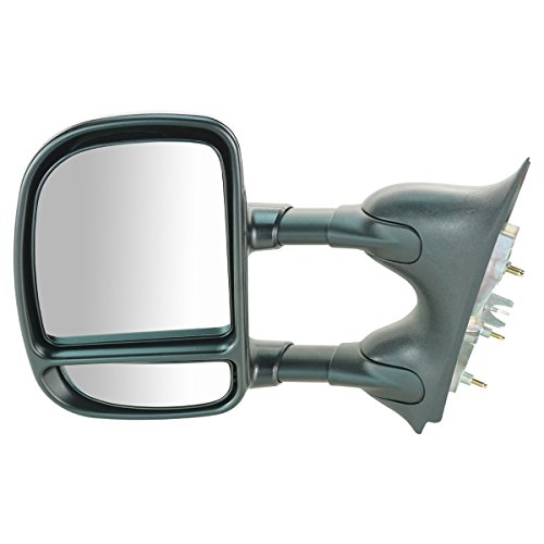 Trail Ridge Towing Mirror Manual Driver Side Left LH for Ford Super Duty - Super Driver Duty Mirror Lh