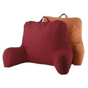 backrest cushion bed rest pillow plush back support lounger support arm stable tv. Black Bedroom Furniture Sets. Home Design Ideas