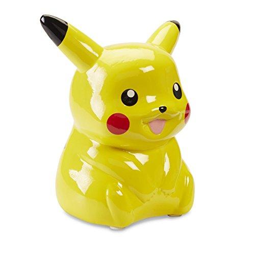 "Nintendo Pokemon 5"" Pikachu Toy Piggy Bank By Ceramic Coin Money Holder For Kids by Nintendo"