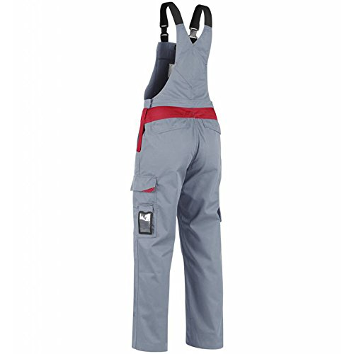 266418009456C152 Overall''Industry'' Size 36/34 (Metric Size C152) IN Grey/Red by Blaklader (Image #2)