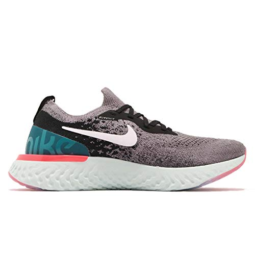 Compétition 010 Running de Gunsmoke Epic Femme White WMNS Chaussures Flyknit Geode Black Teal React Multicolore Nike w1Z0xqYW