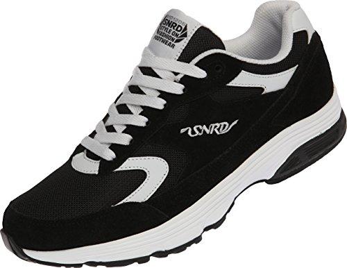 Paperplanes Damen Weiß Tops Low Schwarz Schwarz Sneaker Größe 5 43 SN714 44WqUf