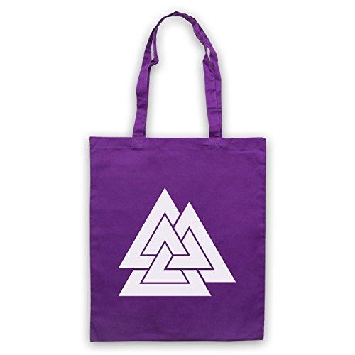 d'emballage Germanic Historic Sac Odin Norse Violet Symbol God Valknut f4wqHza