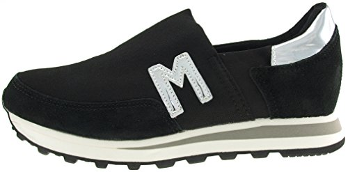 Spandex Ons Maxstar Slip Black JOL Shoes Sneakers Trainers qw6546T