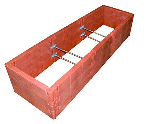 Exaco Trading Company Triple Box 20374 Raised Bed with Cold-Frame by Exaco Trading Company (Image #1)