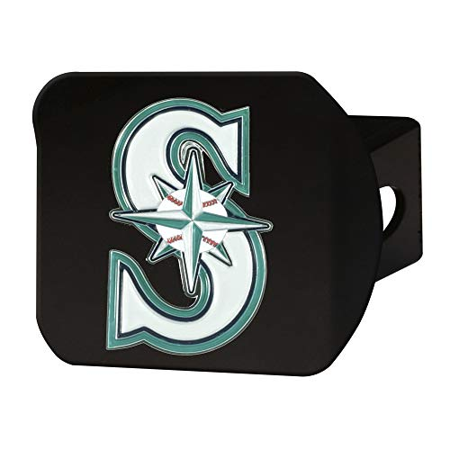 FANMATS MLB - Seattle Mariners Color Hitch - Black ()