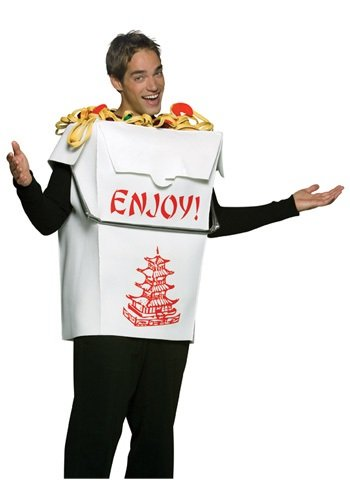 Chinese Takeout Box Costume (Adult Chinese Take Out Costume)