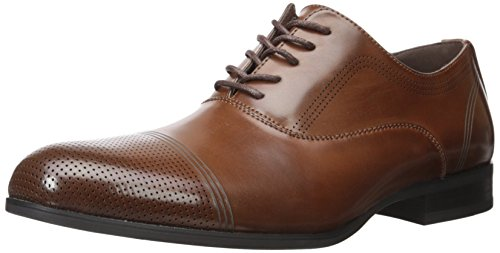 (Kenneth Cole Unlisted Men's Steel-Home Oxford, Cognac, 13 M US)