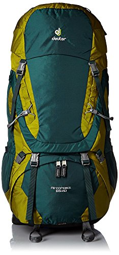 Deuter Aircontact 65+10 Hiking Backpack (Forest/Moss)