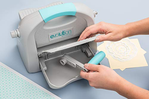 Evolution Advanced Die-Cutting and Embossing Machine by We R Memory Keepers   includes cutting/embossing tool, a 6 x 13-inch cutting and embossing platform, one self-healing mat and bonus nesting die by We R Memory Keepers (Image #7)