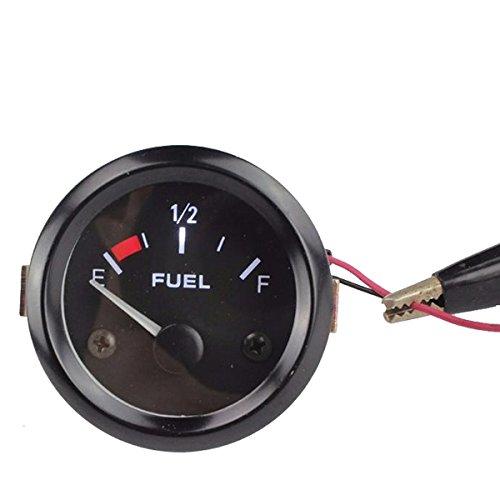 Xunqi 5, 1 cm 52 mm Noir Surface de voiture Niveau de carburant Jauge de mesure LED au mè tre 1cm 52mm Noir Surface de voiture Niveau de carburant Jauge de mesure LED au mètre
