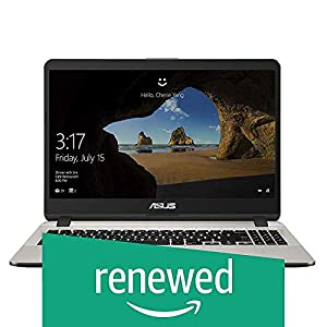 (Renewed) ASUS VivoBook X507UA Intel Core i5 8th Gen 15.6-inch FHD Thin and Light Laptop (8GB RAM/1TB HDD/Windows 10/Integrated Graphics/Icicle Gold/1.68 kg), X507UA-EJ859T
