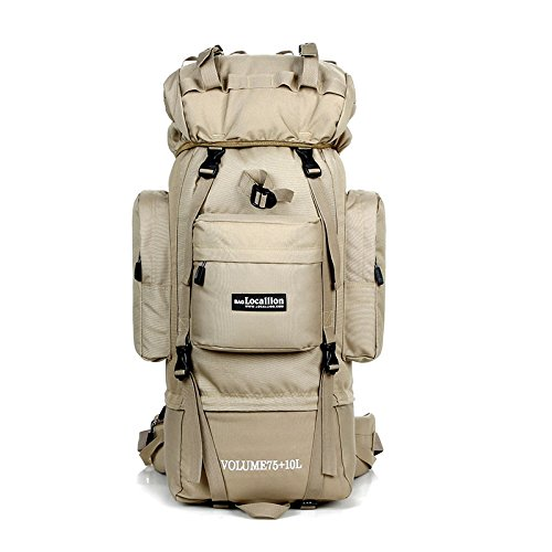 MTkxsy 登山バッグ、男性と女性のための大容量屋外旅行バックパック荒野バックパック防水バックパック屋外レジャー旅行バックパック B07PZV6LQ2 1