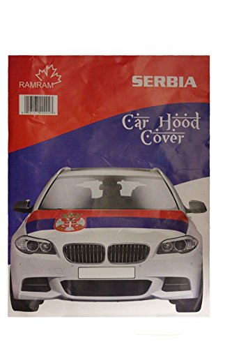 Serbia 2018 World Cup Car Hood Cover (40 x 50 inches) (Serbia World Cup)