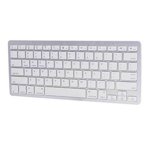 Basde Slim Portable Wireless Mini Bluetooth3.0 Keyboard Support Android for Apple, Backlit Gaming Keyboard Mouse Combo for Windows PC Gamers [Keyboard Mouse Set]
