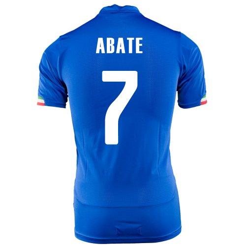 余裕がある慈悲トランスミッションPUMA ABATE #7 ITALY HOME JERSEY WORLD CUP 2014/サッカーユニフォーム イタリア代表 ホーム用 ワールドカップ2014 背番号7 アバーテ