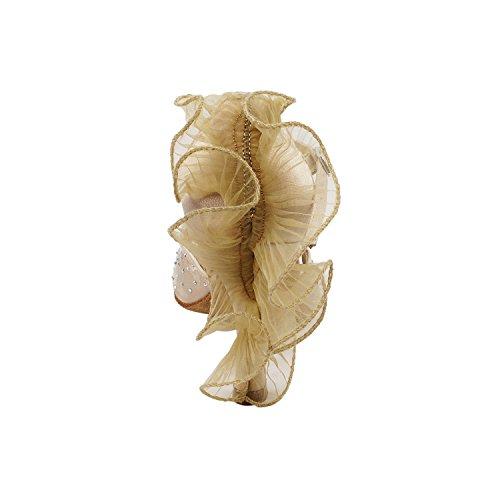 Gouden Duiven Schoenen Feest Feest Sera7014 Comfort Avondjurk Pump, Trouwschoenen: Dames Ballroom Dansschoenen High-medium Hak, Salsa, Tango, Latin, Swing Salsa Tango Swing Latin 7014- Vlees Satijn