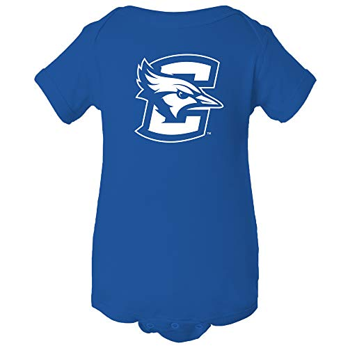 YC02 - Creighton Bluejays Primary Logo Infant Creeper Bodysuit - 12 Month - Royal