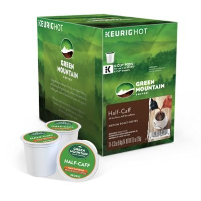 Green Mountain Coffee Medium Roast K-Cup for Keurig Brewers, Half-Caff Coffee (Pack of 96) by Green Mountain Coffee (Image #1)