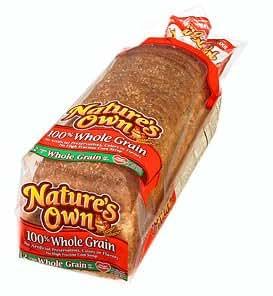 Amazon.com : NATURES OWN WHOLE GRAIN BREAD 100% PER LOAF