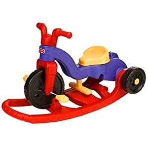 Fisher Price Rock N Roll Toddler Kids Trike Bike Tricycle Red